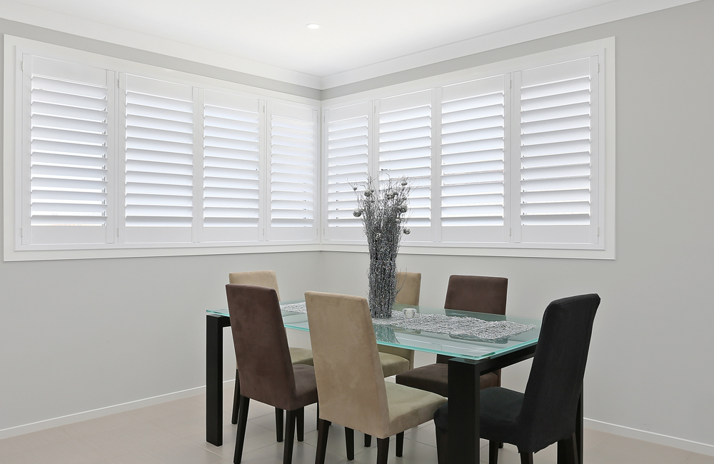 Dining Room Window Shutters
