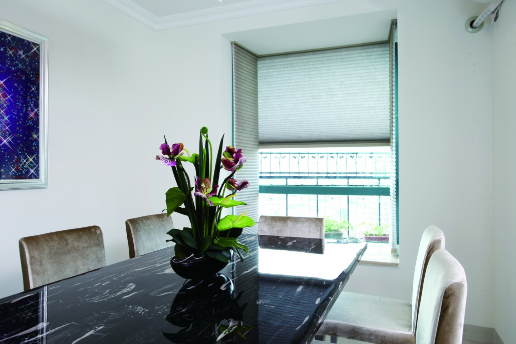 Honeycomb Galaxy Blinds