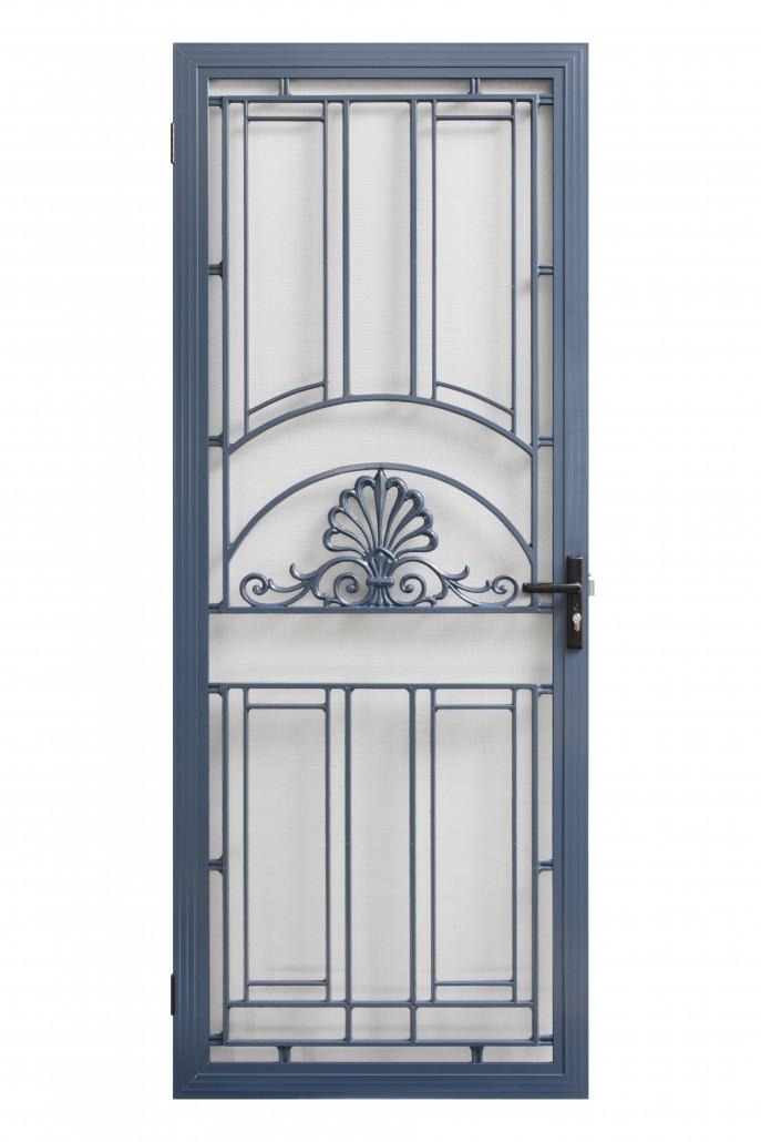 Patterened Barrier Doors