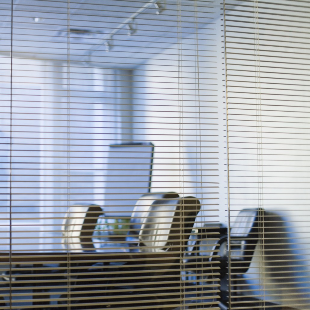 Aluminum Office Venetians