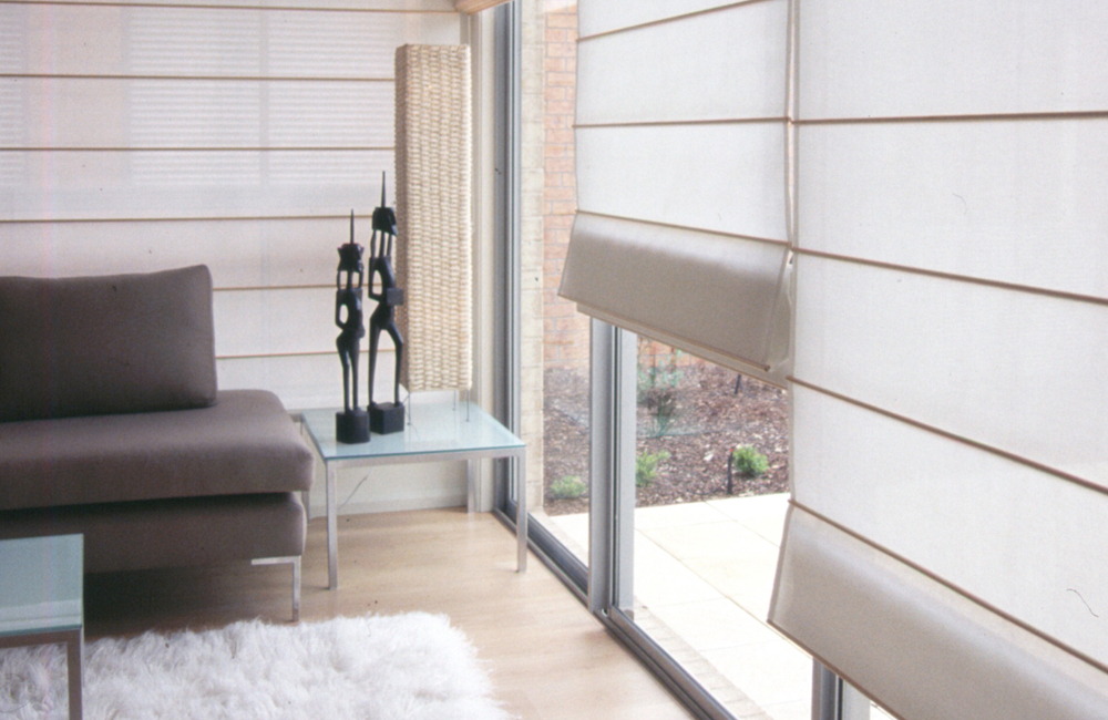 Door Roman Blinds