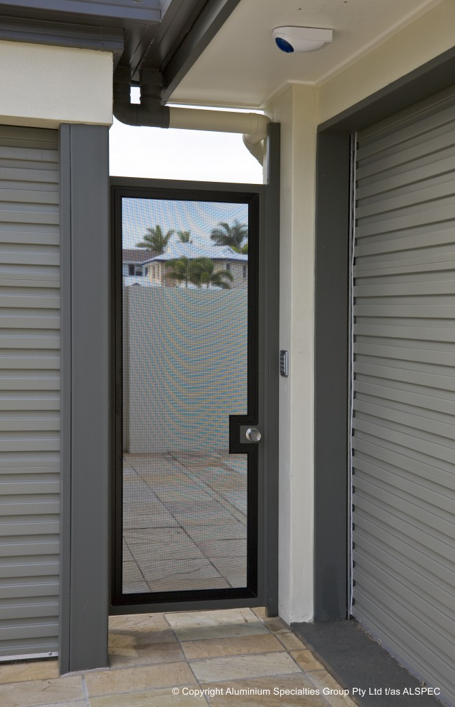 Transparent Hinged Doors Invisi Gard