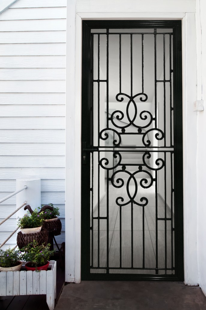 Black Barrier Doors