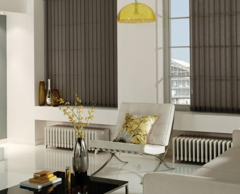 Vertical Screentex Blinds