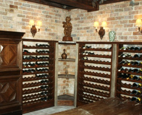 French Wine cellar design