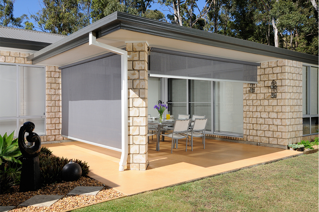 Outdoor Pvc And Rectractable Blinds Sydney Blinds